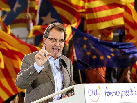 Katalanischer Politiker, Artur Mas