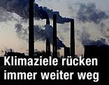Rauchende Fabrikskamine