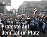 Protestkundgebungen auf dem Tahrir-Platz in Kairo
