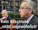 Euro-Gruppe-Chef Jean-Claude Juncker im Interview