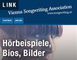 Screenshot der Website der VSA (Vienna Songwriting Association)