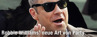 Sänger Robbie Williams