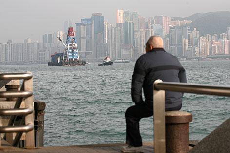 Skyline von Hongkong