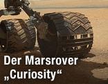 "Räder des Marsrovers ""Curiosity"""