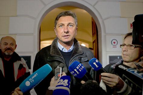 Designierter Solowenischer Präsident, Borut Pahor