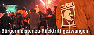 Proteste in Maribor gegen Bürgermeister Franc Kangler