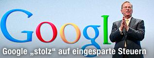Google-Chef Eric Schmidt