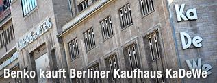 Kaufhaus KaDeWe in Berlin