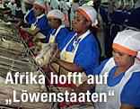 Arbeiterinnen in Mauritius