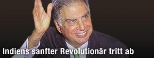 Der indische Manager Ratan Tata
