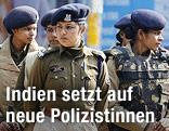 Indische Polizistinnen