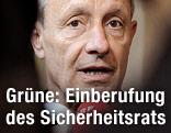 Grünen-Fraktionschef Peter Pilz