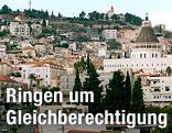 Stadtansicht von Nazareth