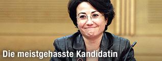 Israelisch-arabische Knesset-Abgeordnete Hanin Soabi