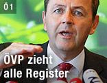 Umweltminister Nikolaus Berlakovich (ÖVP)