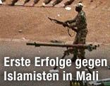 Malischer Soldat