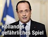 Francois Hollande, französischer Präsident