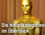 Lebensgroße Oscar-Statue