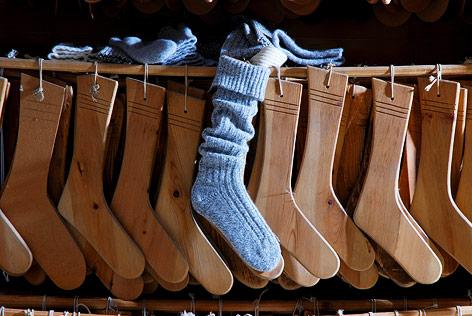 Socken der Firma Lodenwalker