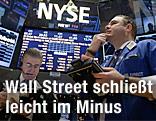 Broker an der Wall Street