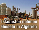 Erdgasfeld in Anemas in Algerien