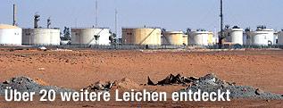 Erdgasfeld in Algerien
