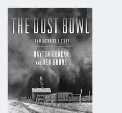 """Buchcover von """"The Dust Bowl: An Illustrated History"""""""