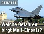 Französischer Kampfjet hebt ab