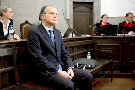 Der Angeklagte Ernst Strasser