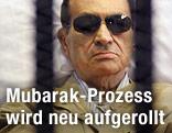 Hosni Mubarak hinter Gittern