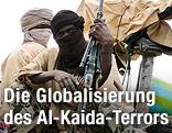 Bewaffnete Kämpfer der Islamistengruppe Ansar Dine