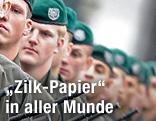 Rekruten des Bundesheeres