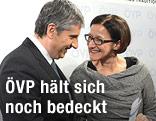 Vizekanzler Michael Spindelegger und Innenministerin Johanna Mikl-Leitner