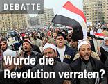 Archivbild von 2011 zeigt ägyptische Demonstranten