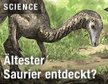 Der eventuell älteste Dinosaurier der Welt