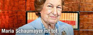 Ex-OeNB-Präsidentin Maria Schaumayer