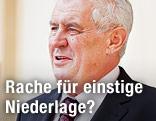 Ehemaliger tschechischer Regierungschef Milos Zeman