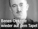 Archivfoto des ehemaligen tschechoslowakischen Präsidenten Edvard Benes