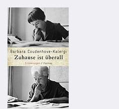 """Buchcover """"Zuhause ist überall"""" von Barbara Coudenhove-Kalergi"""