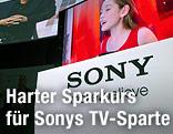 Fernseher der Marke Sony