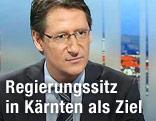 Bündnisobmann BZÖ Josef Bucher