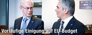 Van Rompuy, Faymann
