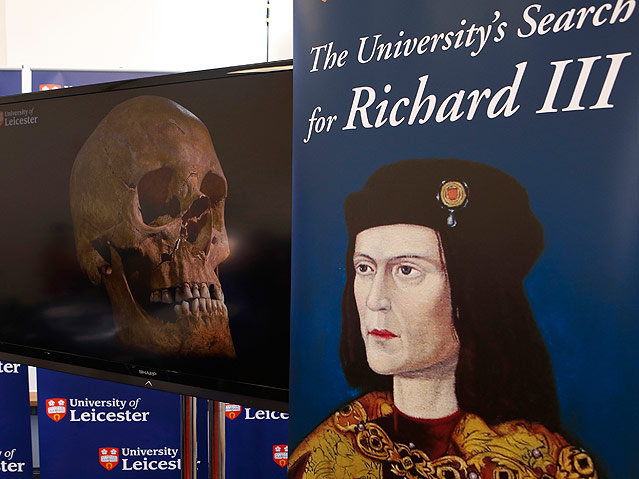 Plakat des Königs Richard III.