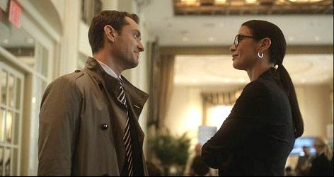 "Jude Law und Catherine Zeta-Jones im Film ""Side Effects"""