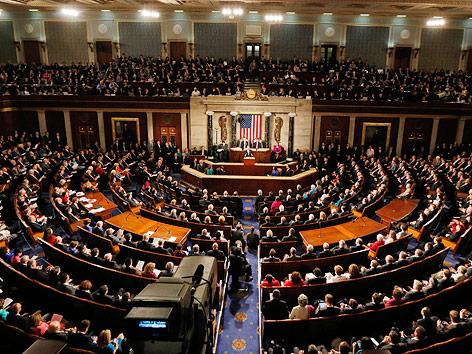 US-Präsident Barack Obama spricht vor dem Kongress