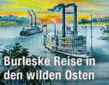 """Cover des Buchs """"Trommeln vom anderen Ufer des großen Flusses"""" von Autor Richard Schuberth"""