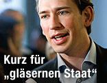 Staatssekretär Sebastian Kurz