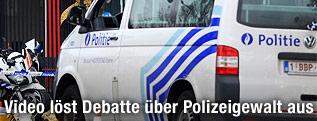 Belgisches Polizeiauto