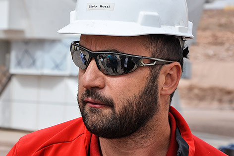 Silvio Rossi (Leitender ESO-Elektronikingenieur)