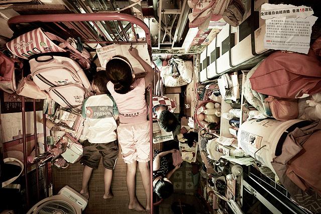 Armutswohnung in Hongkong